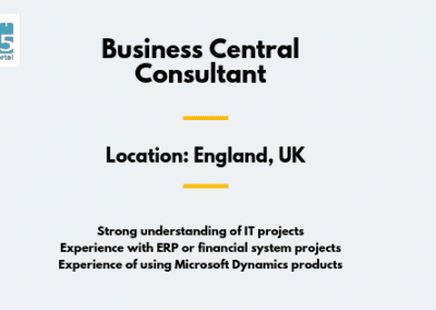 Business Central Consultant