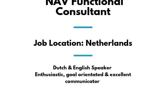 NAV Functional Consultant